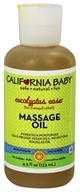 Aromatherapy Massage Oil Eucalyptus Ease All Natural