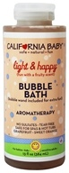 Aromatherapy Bubble Bath With Bubble Wand Light & Happy