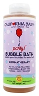 Aromatherapy Bubble Bath With Bubble Wand Baby Party