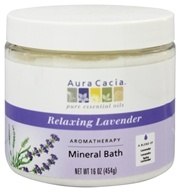Aromatherapy Mineral Bath Lavender Harvest