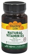 Natural Vitamin D3 From Fish Liver Oil