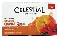 Tangerine Orange Zinger Herb Tea Caffeine Free