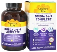 Ultra Concentrated Omega 3-6-9
