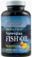 The Very Finest Norwegian Fish Oil Omega-3's DHA & EPA