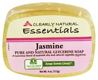 Clearly Natural - Glycerine Soap Bar Jasmine - 4 oz.