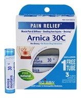 Arnica 30c Pain Relief Pellets Buy 2 Get 1 Free Value Pack 3 x 80 Pellets