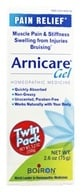 Boiron - Arnicare Arnica Gel Pain Relief 2.6 oz. (75g) Twin Pack - 5.2 oz.