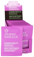 Cleansing Towelettes With Organically Grown & Wild Crafted Ingredients