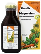Flora - Floradix Magnesium Liquid Mineral Supplement - 8.5 oz.