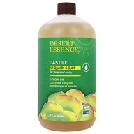 Castile Liquid Soap With Eco-Harvest Tea Tree Oil