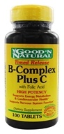 B-Complex Plus C Time Release With Folic Acid