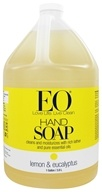 EO Products - Liquid Hand Soap Lemon & Eucalyptus - 1 Gallon