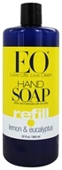 EO Products - Liquid Hand Soap Lemon & Eucalyptus - 32 oz.