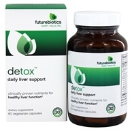Futurebiotics - Detox Daily Liver Support - 60 Vegetarian Capsules