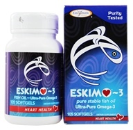 Eskimo-3 Natural Stable Fish Oil Ultra-Pure Omega-3