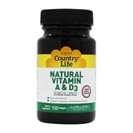 Natural Vitamin A & D3 From Cod Liver Oil 10,000 IU/400 IU