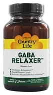 GABA Relaxer Free Form Amino Acid Supplement with Vitamin B-6 Rapid Release