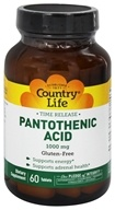 Pantothenic Acid Time Released