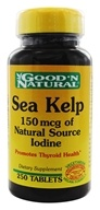 Sea Kelp 150 mcg of Natural Source Iodine
