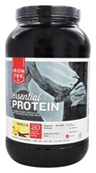 Iron Tek - Essential Natural High Protein with Micellar Casein Vanilla Cake - 2.1 lbs.
