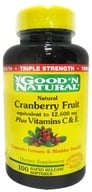 Cranberry Fruit plus Vitamins C and E