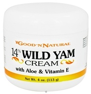 14% Wild Yam Cream with Aloe and Vitamin E