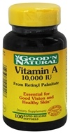 Vitamin A From Retinyl Palmitate & Fish Liver Oil