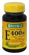 Natural Vitamin E d-Alpha Tocopheryl