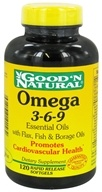 Omega 3-6-9 Flax, Fish & Borage Oils