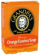 Fancy Orange Essence Soap with Olive Oil & Chamomile