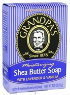 Moisturizing Shea Butter Soap with Lavender & Vanilla
