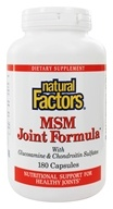 MSM Joint Formula with Glucosamine & Chondroitin Sulfates