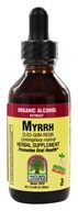 Myrrh Oleo-Gum-Resin Organic Alcohol