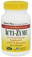 Acti-Zyme with Live Food Enzymes FOS & Bioperine