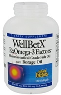 WellBetX RxOmega-3 Factors with Borage Oil