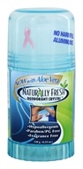 Deodorant Crystal Blue Twist Up Stick with Aloe Vera