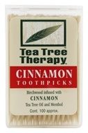 Tea Tree Toothpicks