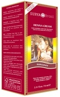 Henna Brasil Cream Hair Coloring with Organic Extracts Burgundy