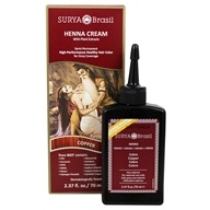 Henna Cream Hair Coloring with Organic Extracts Copper