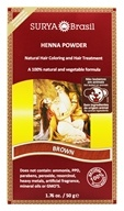 Henna Brasil Powder Natural Hair Coloring Brown