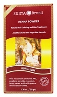 Henna Brasil Powder Natural Hair Coloring Burgundy