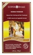 Henna Powder Natural Hair Coloring Golden Brown