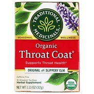 Organic Throat Coat Tea - Supports Throat Health
