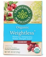 Organic Weightless Cranberry Herbal Tea Caffeine Free