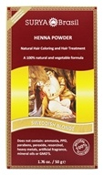Henna Brasil Powder Natural Hair Coloring Swedish Blonde