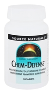 Chem-Defense Molybdenum/Glutathione Complex Sublingual