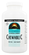Acerola Chewable C
