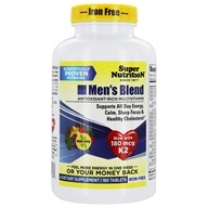 Super Nutrition - Men's Blend Iron Free - 180 Vegetarian Tablets LUCKY PRICE