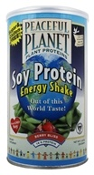 Peaceful Planet Soy Protein Energy Shake