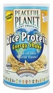 Peaceful Planet Rice Protein Energy Shake